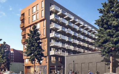 Micro-Unit Apartment Complex Proposed in DTLA